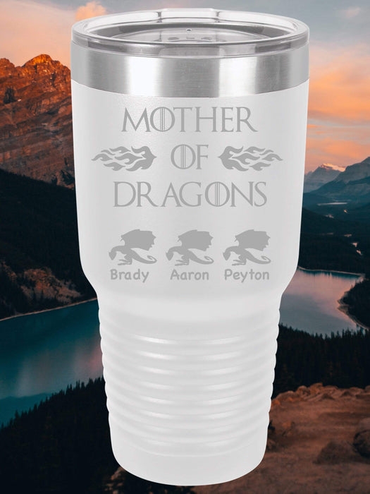 Mother Of Dragons Personalized Tumbler