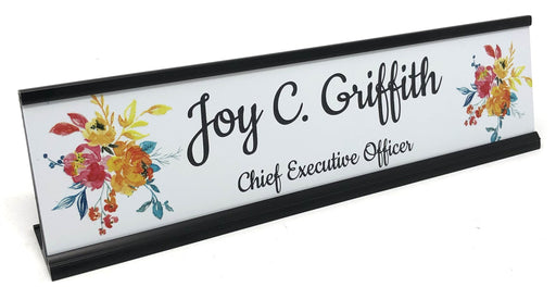 Summer Chill Collection Name Plate w/Holder