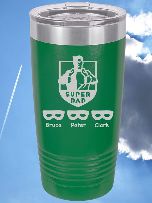 Super Dad Personalized Tumbler