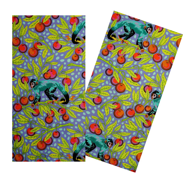 MONKEYS & CHERRIES NAPKIN SET