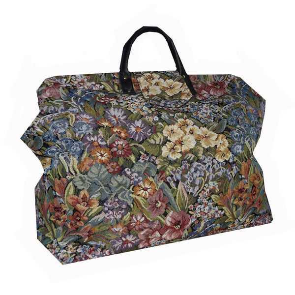 WILDFLOWERS TAPESTRY CARPET BAG