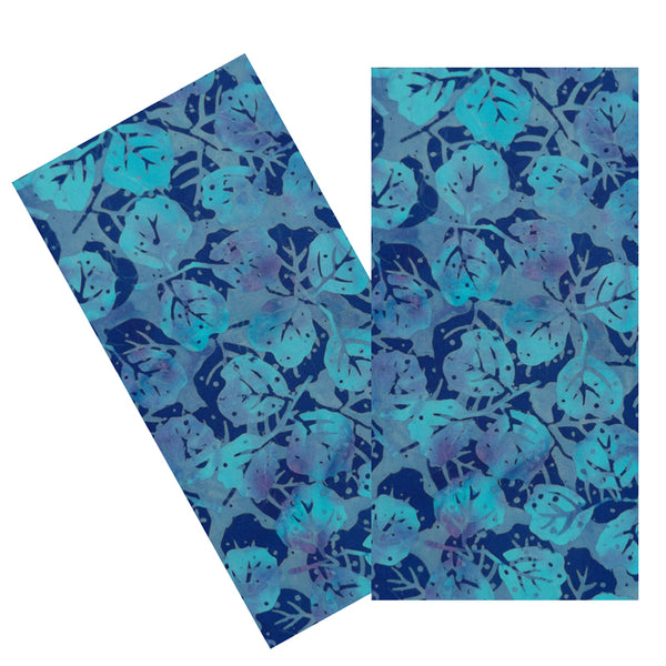 BLUE LEAVES BATIK NAPKIN SET