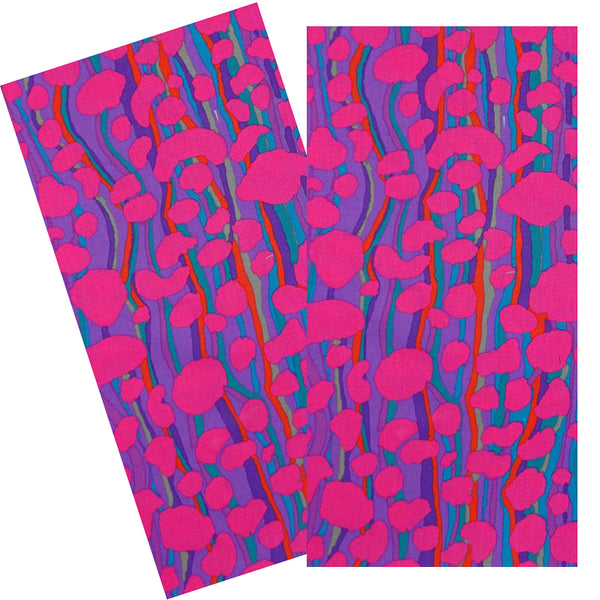 MAGENTA STREAM NAPKIN SET