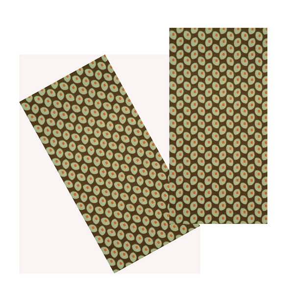 OLIVE DOTS NAPKIN SET