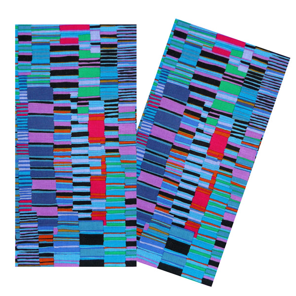 STACKED STRIPES NAPKIN SET