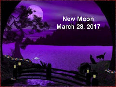 New moon March 28 2017