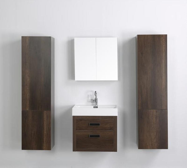streamline 24 floating vanity simply sinks bathroom vanities. Black Bedroom Furniture Sets. Home Design Ideas