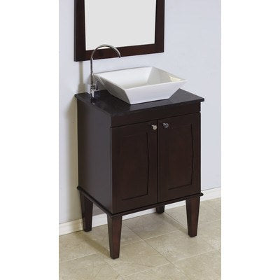 "American Imaginations 24"" Single Sink Transitional Bathroom Vanity Set AI-721"