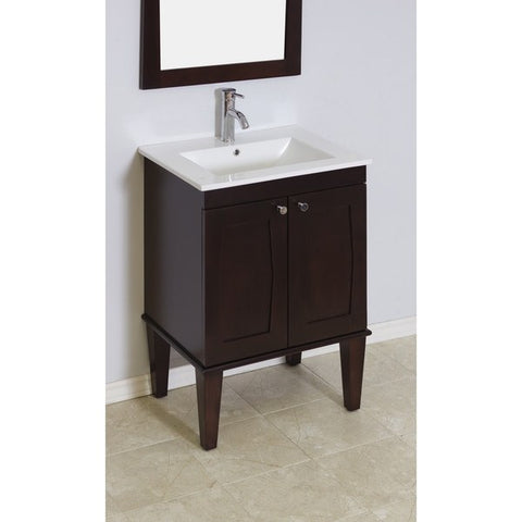 "American Imaginations 24"" Single Sink Vanity Set AI-473"