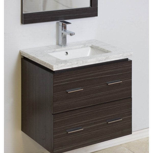 "American Imaginations 24"" Single Sink Wall Mount Vanity AI-724"
