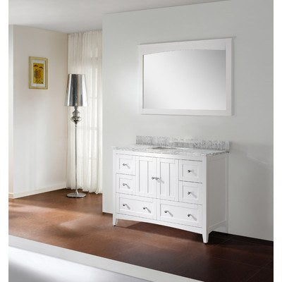 "American Imaginations 47.5"" Single Sink Bathroom Vanity AI-17643"