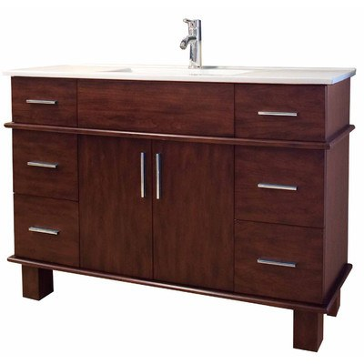 "American Imaginations 48"" Single Sink Transitional Bathroom Vanity Set AI-510"