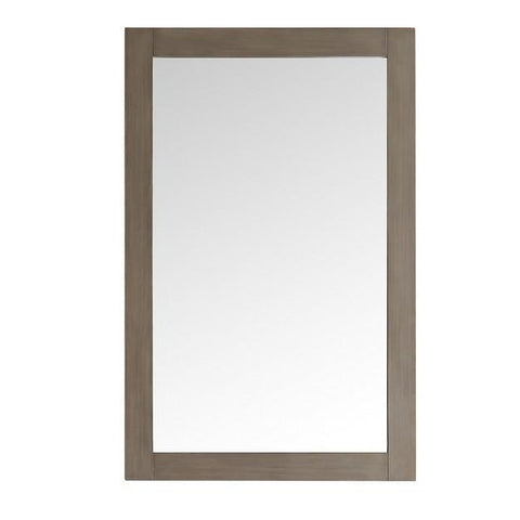 "Fresca Greenwich 20"" Antique Silver Traditional Bathroom Mirror"