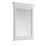 "Fresca Windsor 24"" Gray Textured Bathroom Mirror 