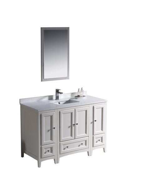 "Fresca Oxford 48"" Traditional Bathroom Vanity"