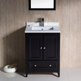 "Fresca Oxford 24"" Traditional Bathroom Vanity"