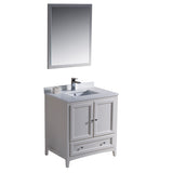 "Fresca Oxford 30"" Traditional Bathroom Vanity"