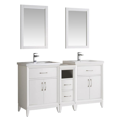 "Fresca Cambridge 60"" Double Sink Vanity"