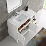 "Fresca Cambridge 42"" Traditional Bathroom Vanity with Mirror"