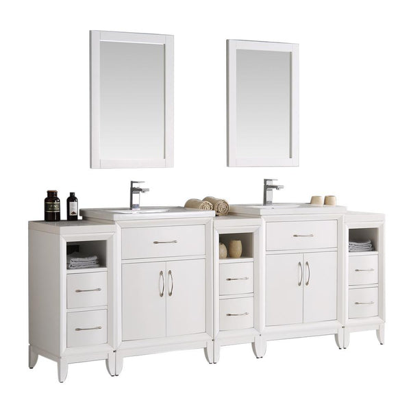 "Fresca Cambridge 84"" Double Sink Vanity"