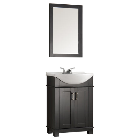 "Fresca Hartford 24"" Traditional Bathroom Vanity"