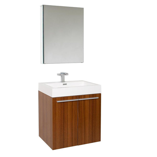 "Fresca Alto 23"" Wall Hung Bathroom Vanity"