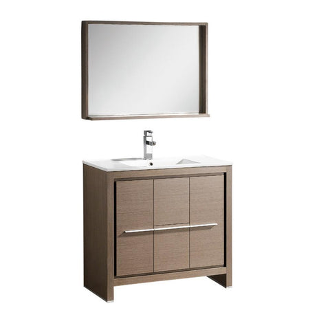 "Fresca Allier 36"" Modern Bathroom Vanity"
