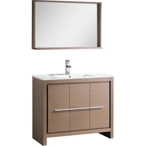 "Fresca Allier 40"" Modern Bathroom Vanity"