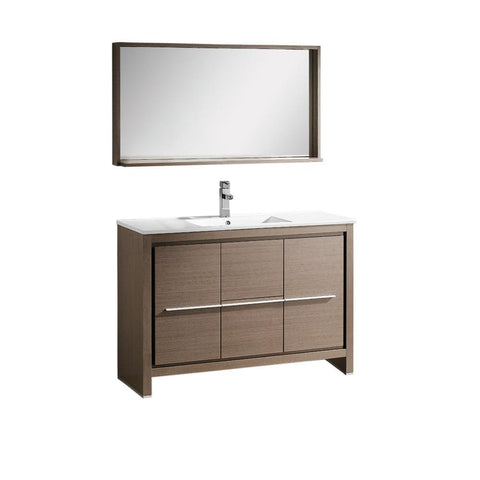 "Fresca Allier 48"" Modern Bathroom Vanity"