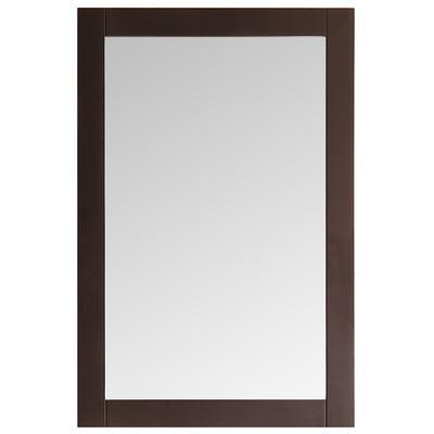 "Fresca Greenwich 20"" Antique Coffee Traditional Bathroom Mirror"