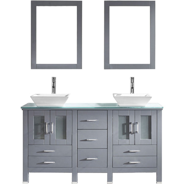 "Bradford 60"" Double Bathroom Vanity"