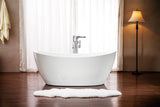 "Streamline 59"" Freestanding Faucet and Tub Set"