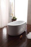 "Streamline 67"" Freestanding Faucet and Tub Set"