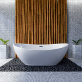 "Streamline 66"" Soaking Freestanding Tub 