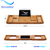 "Streamline Freestanding 60"" Faucet and Tub Set"