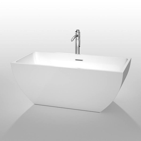 "Wyndham Collection Rachel 59"" x 29.5"" Soaking Bathtub WCBTK150559"