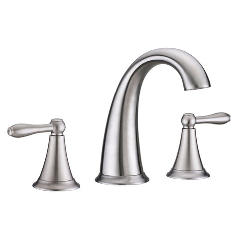 Virtu USA Alexis Brushed Nickel Single Handle Faucet - PS-265