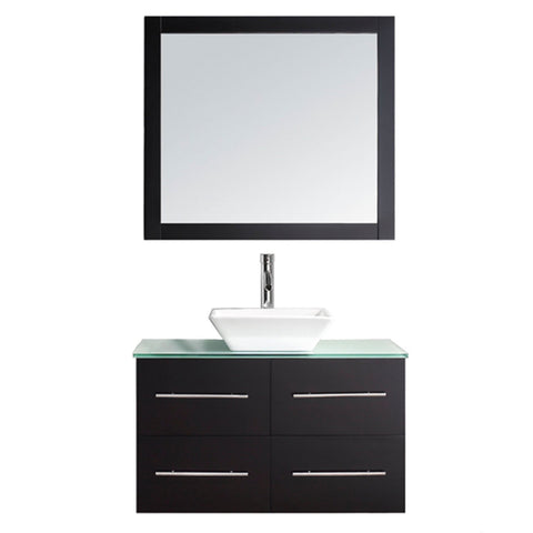 "Virtu USA Marsala 35"" Single Bathroom Vanity with Countertop"