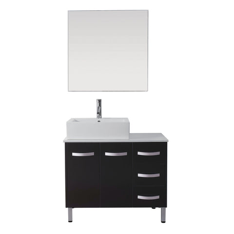 "Virtu USA Tilda 36"" Single Bathroom Vanity with Countertop"