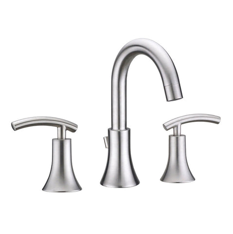 Virtu USA Anthen Brushed Nickel Single Handle Faucet - PS-268