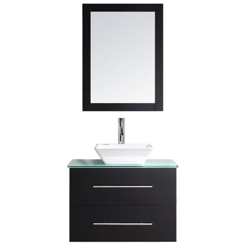 "Virtu USA Marsala 29"" Single Bathroom Vanity with Countertop"