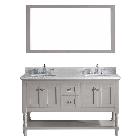 "60"" Double Bathroom Vanity"