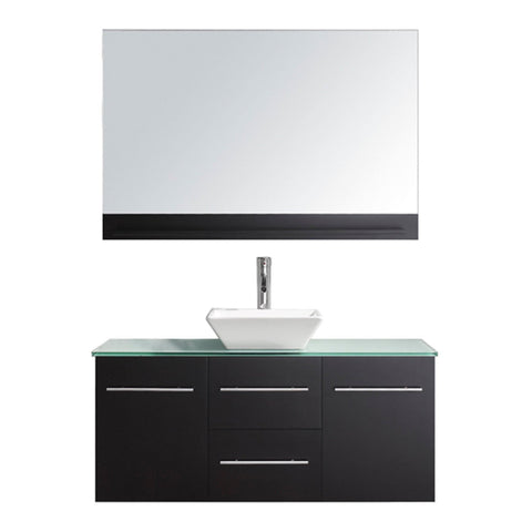 "Virtu USA Marsala 48"" Single Bathroom Vanity with countertop"
