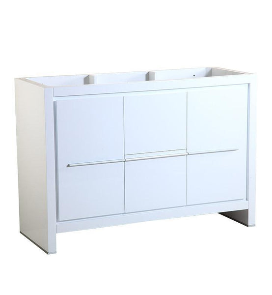 "Fresca Allier 48"" White Modern Bathroom Cabinet"