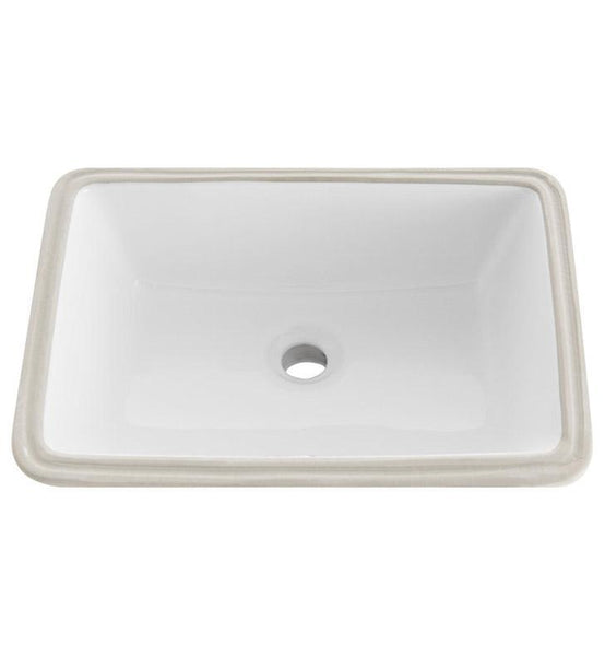 "Fresca Bellezza 60"" White Undermount Sink"