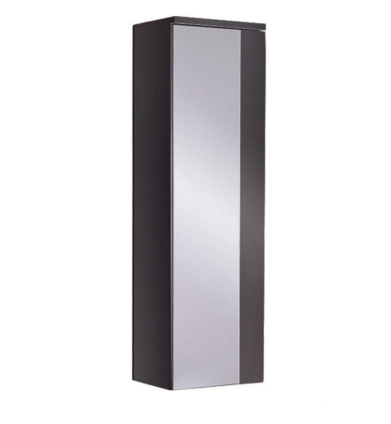 "Fresca Caro 12"" Espresso Mirrored Side Cabinet"