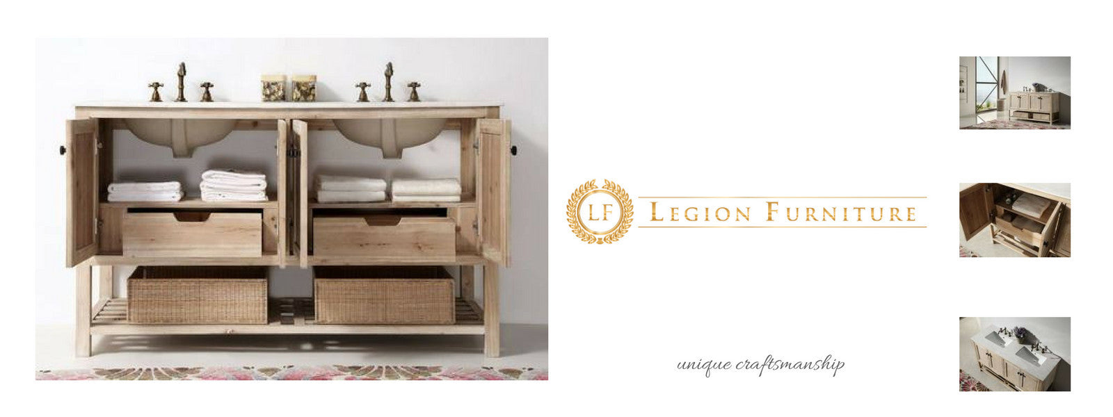 Legion Furniture Bathroom Bathtubs and Vanities