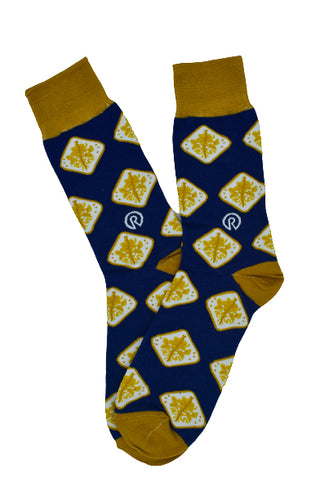 Bahamian Coin - Navy Blue