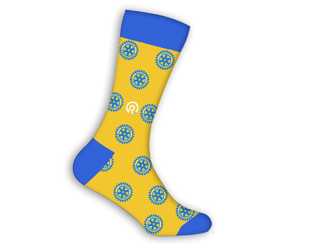 Rotary International Socks