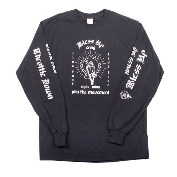 Bless Up Throttle Down Long Sleeve